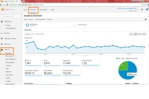audience google analytics
